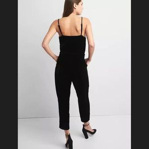 c8f55a06759 GAP Pants - 💕HP💕GAP Black Velvet Jumpsuit OBO